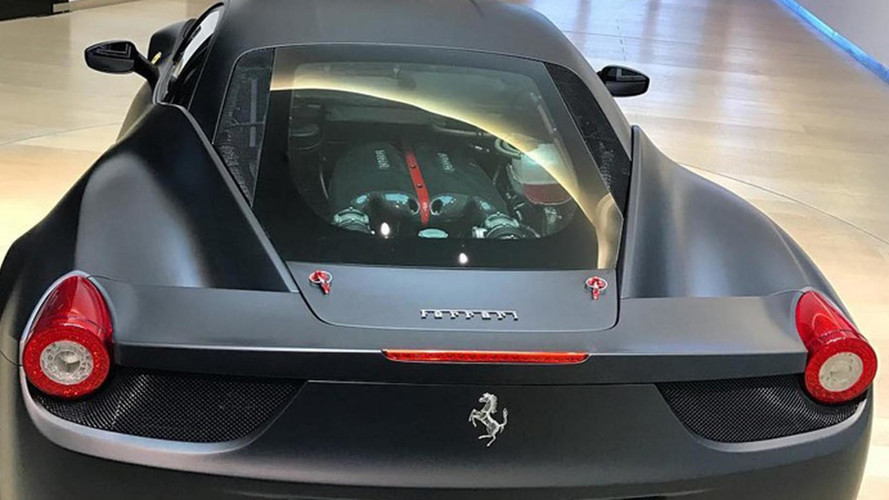 Ferrari 458 Italia V12 Test Mule Is A Unicorn With LaFerrari DNA