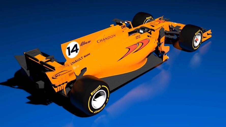 What A Papaya Orange 2018 McLaren F1 Car Could Look Like