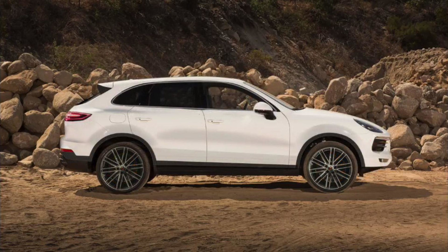 Porsche Cayenne Rendered Based On Official Teaser Sketch