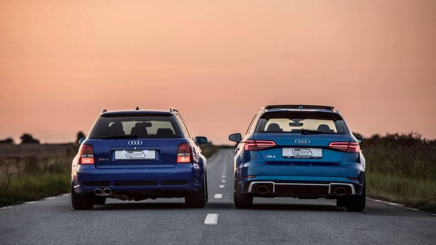 Audi RS3 Sportback 2018 vs. Audi RS4 Avant 2001