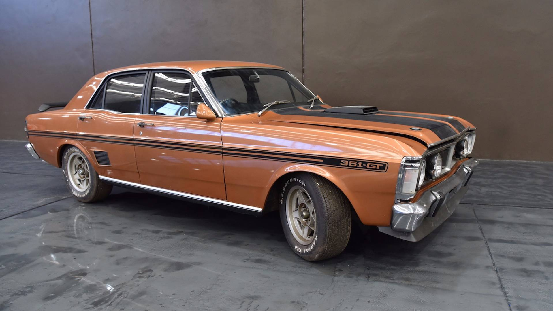 fec7eafc 1971 Ford Falcon GTHO Lost For 30 Years Heading To Auction