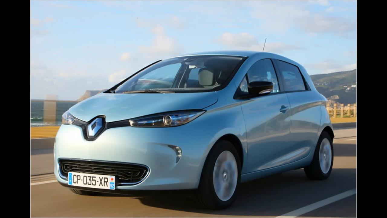 Platz 4: Renault Zoe (338 Liter)
