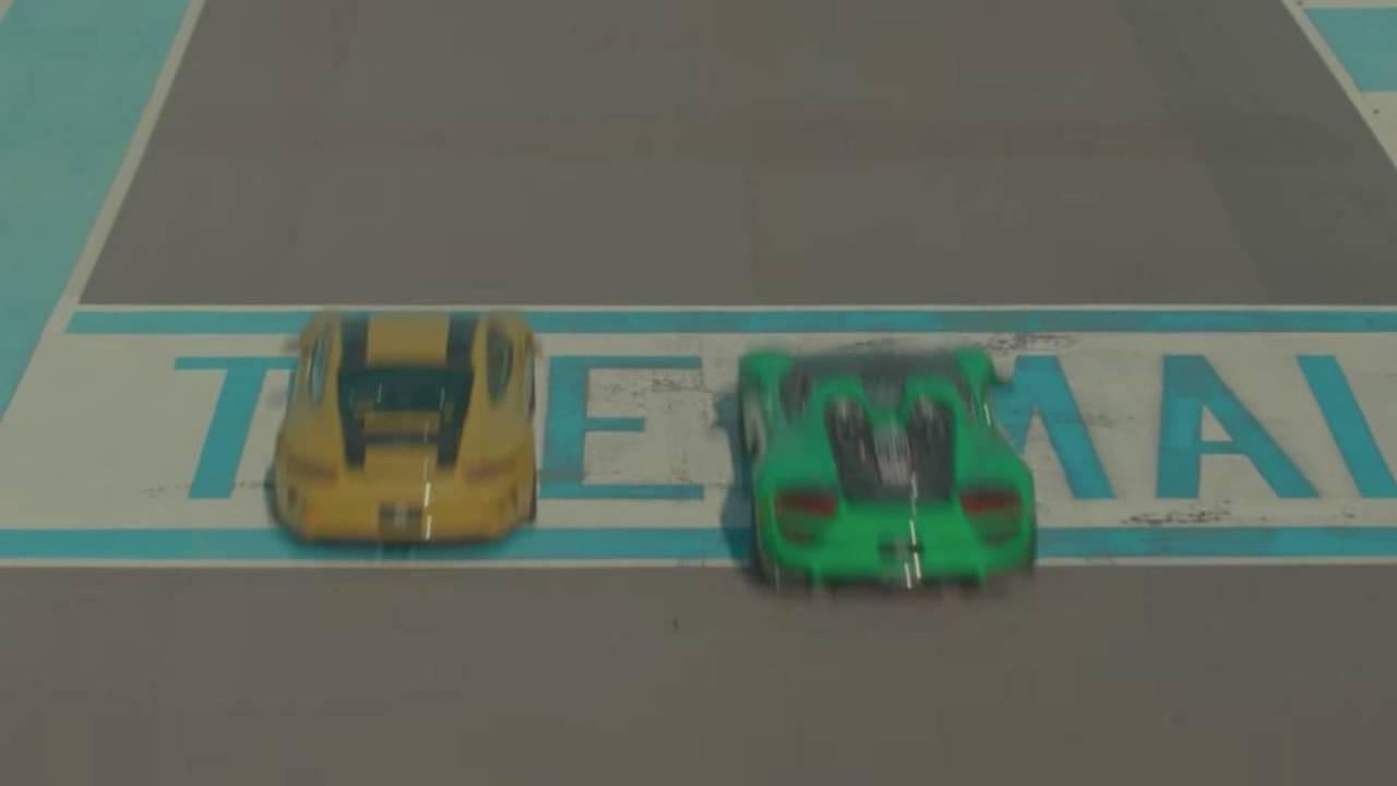 Porsche 911 R ve 918 Spyder Termal Yarış Pisti