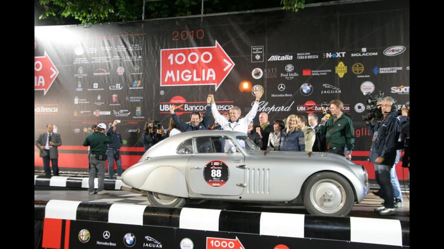 Mille Miglia 2010: vince Giuliano Canè