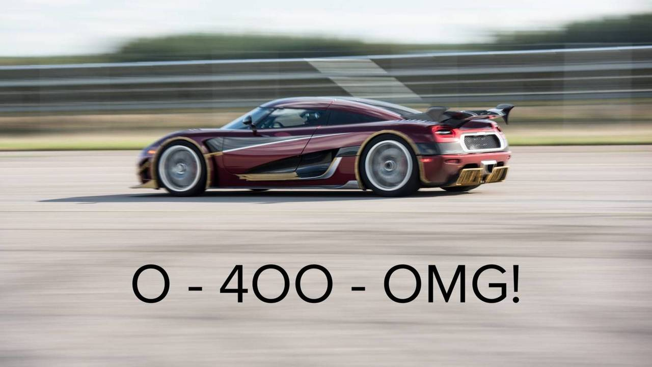 Koenigsegg speed record teaser