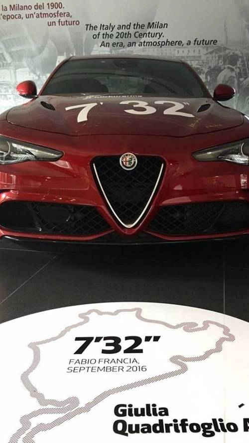 Une exposition Nürburgring au musée Alfa Romeo
