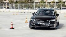 Audi A8 2018 dynamic all-wheel steering