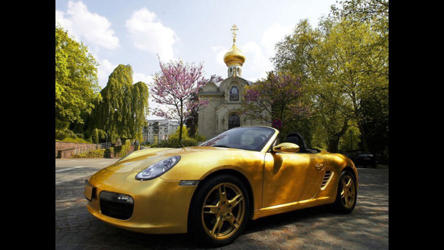"""Sogni d'oro: Porsche Boxster """"Gold"""""""