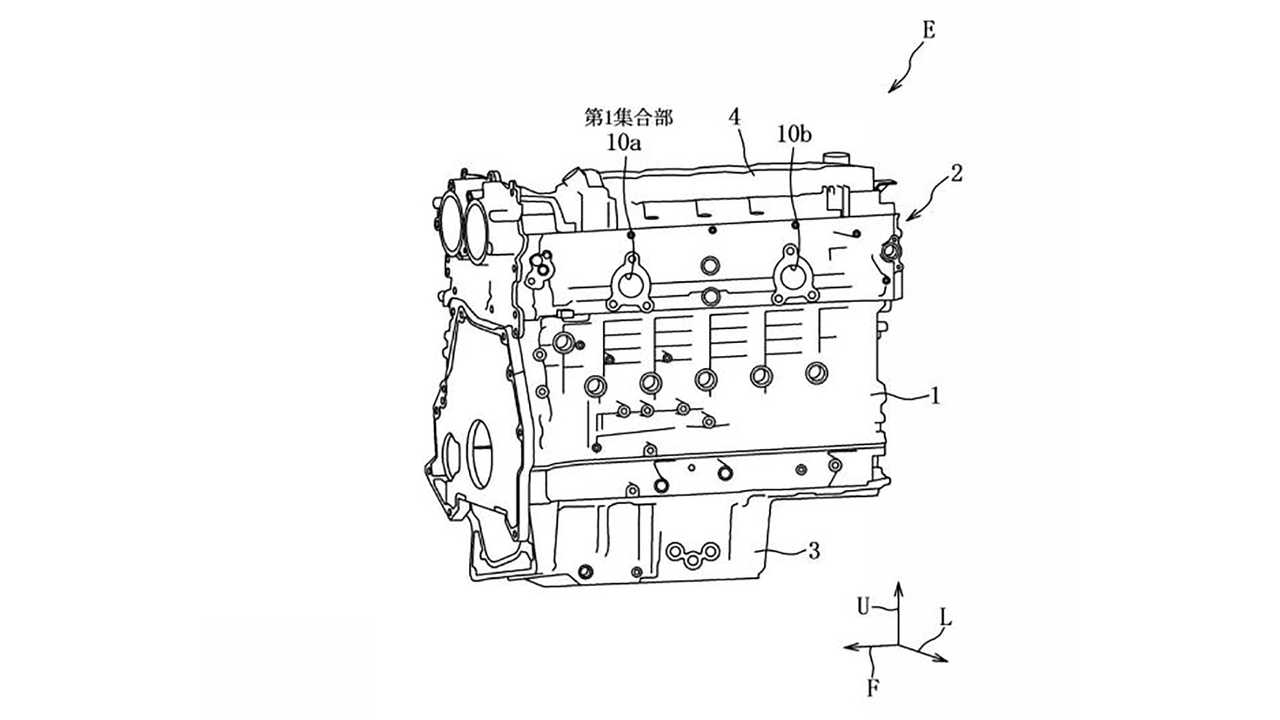 Mazda Inline-Six Engine Patent