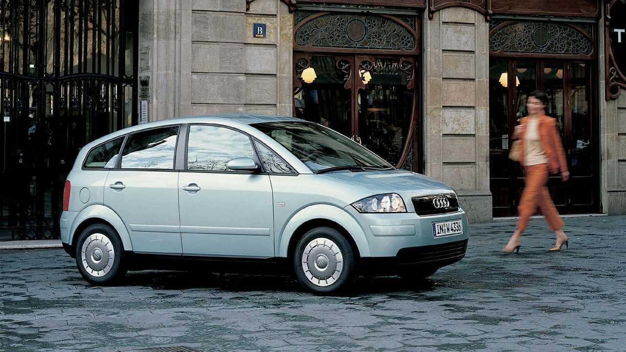 Audi A2 (noviembre de 1999 - agosto de 2005)