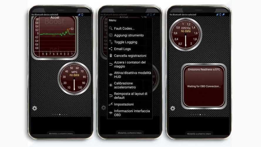 Torque, l'app per individuare gli errori e leggere i dati dell'auto