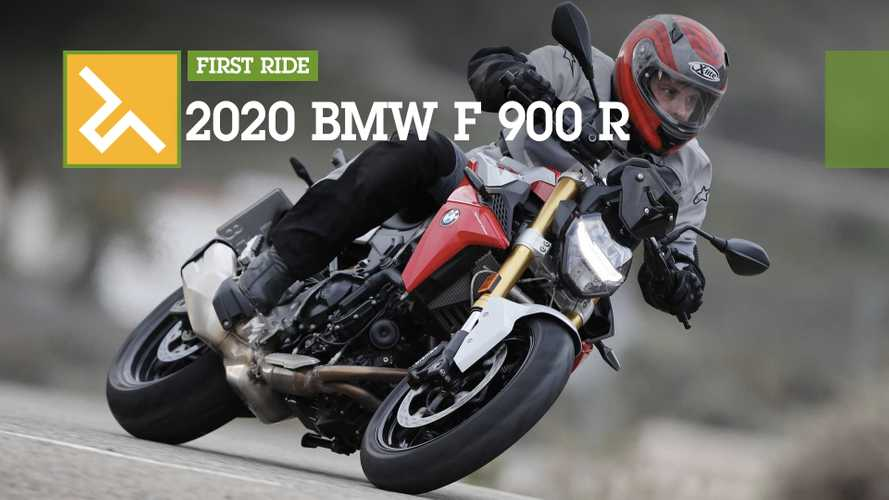 First Ride Review: 2020 BMW F 900 R