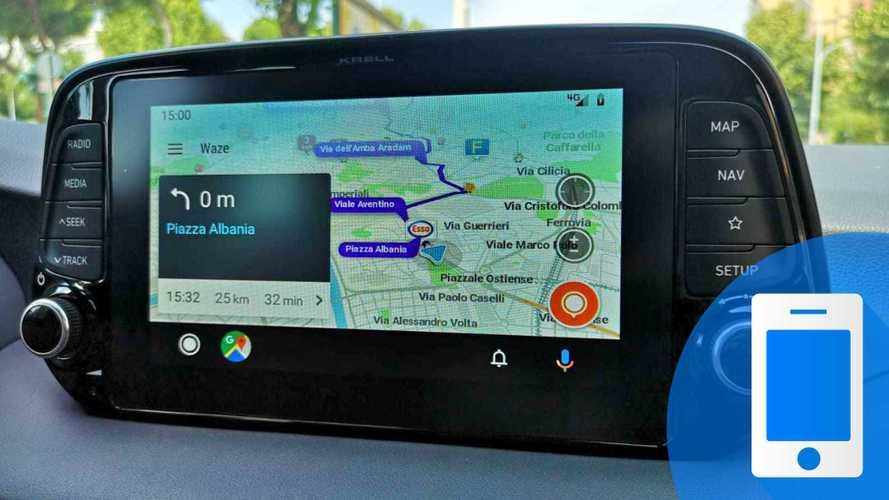 Come usare Waze su Android Auto con e senza comandi vocali