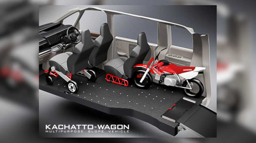 New Honda Kachatto-Wagon Concept Simplifies Bike Hauling