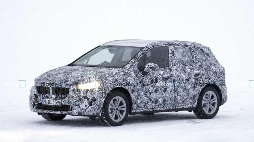 BMW 2 Serisi Active Tourer karlar içinde görüntülendi