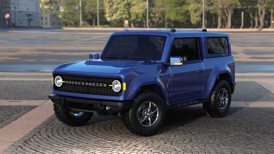 2020 Ford Bronco new renderings
