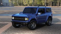 Ford Bronco (Renderings mit Air Roof)