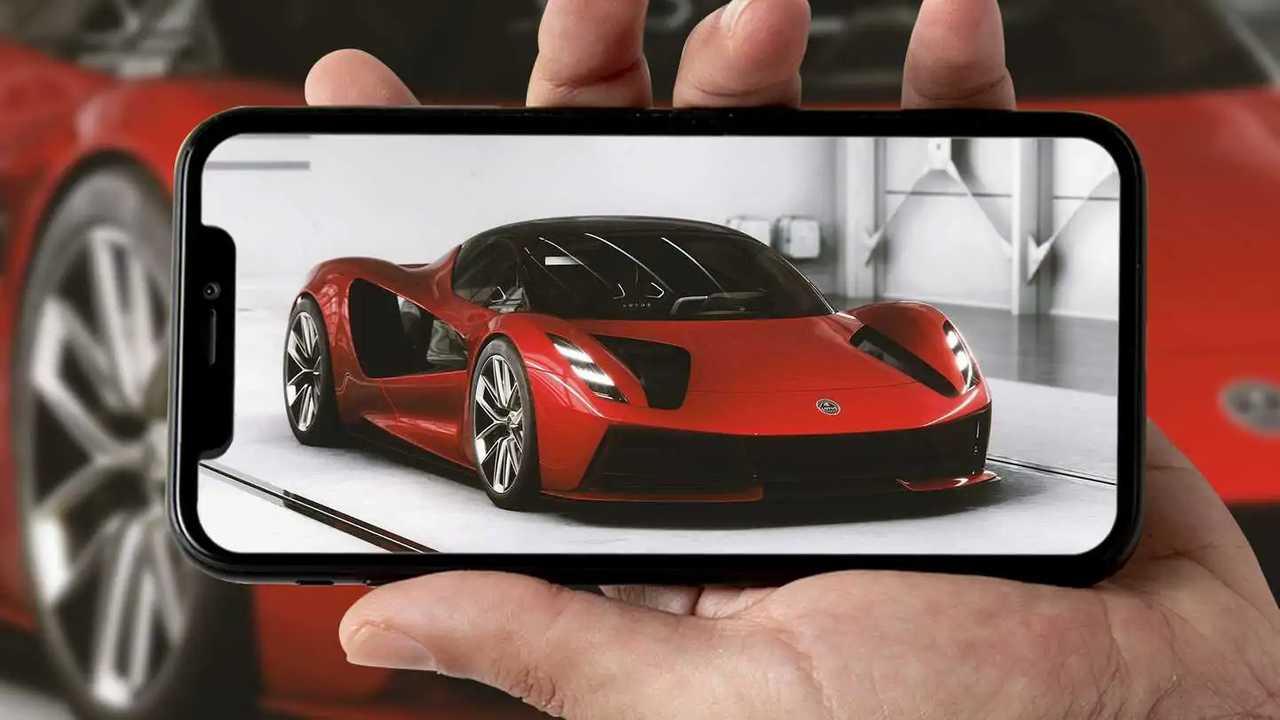 Copertina Lotus Evija Configuratore Smartphone