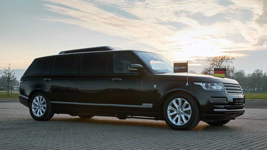 Klassen Stretched: Range Rover Autobiography in XXL