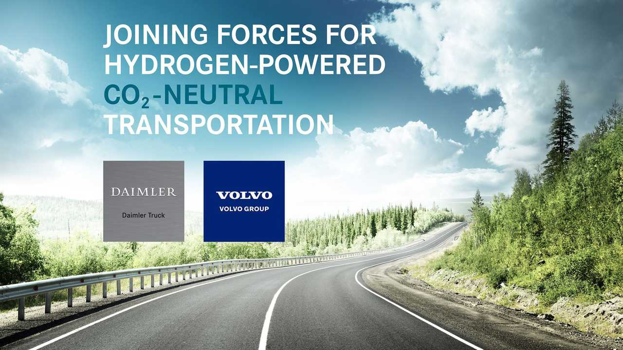 The Volvo Group and Daimler Truck AG to form joint venture for large-scale production of fuel cells