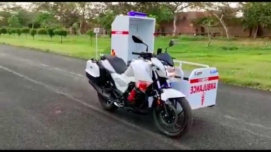Hero MotoCorp Donates Bike Ambulances Throughout India