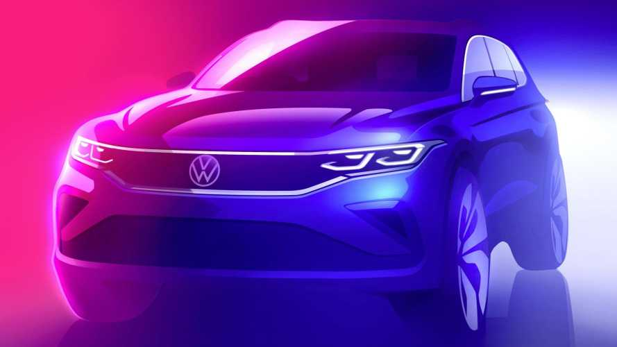 Volkswagen Teases New Tiguan (PHEV Coming This Year)