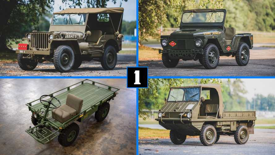 These 6 Wonderfully Quirky Military Vehicles Are In The Same Auction