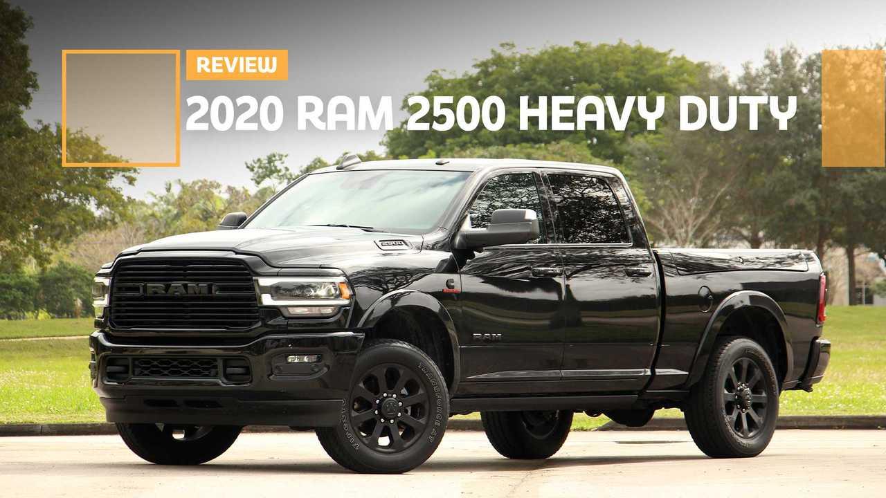 2020 Ram 2500 Heavy Duty Laramie Review Big Posh Truck