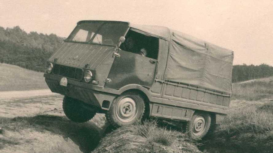 """Skoda-Historie: Der Typ 998 """"Agromobil"""" von 1962"""
