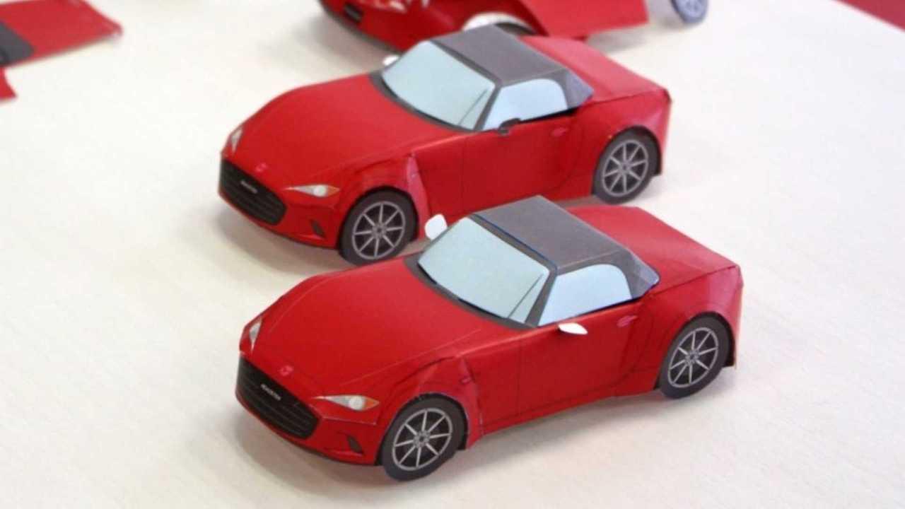 Mazda Papercraft Models