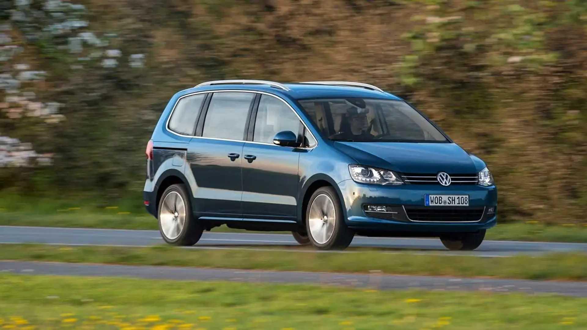 2021 VW Sharan Redesign