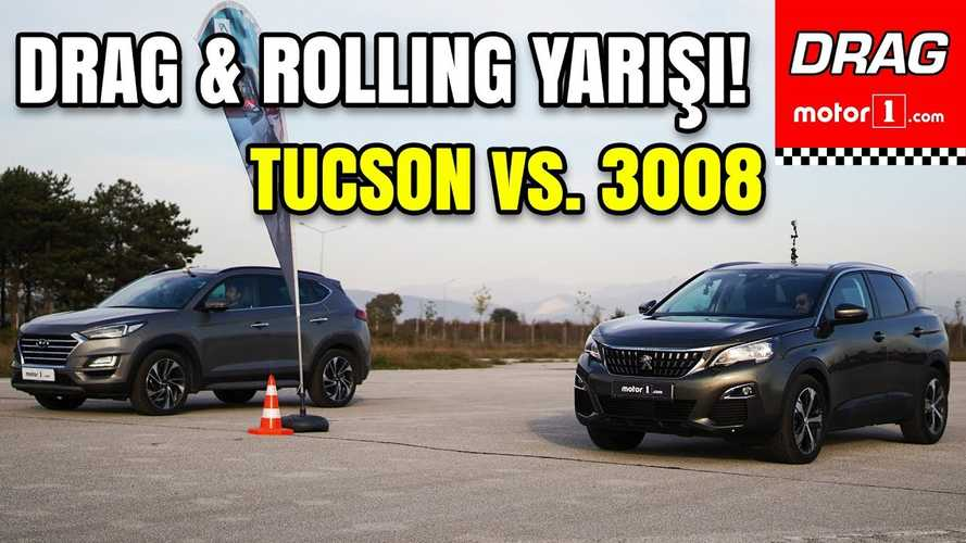 Peugeot 3008 faces Hyundai Tucson in this diesel crossover drag race