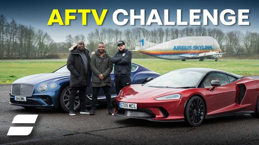 McLaren GT Races Bentley Continental GT In Quirky Slalom Test Battle