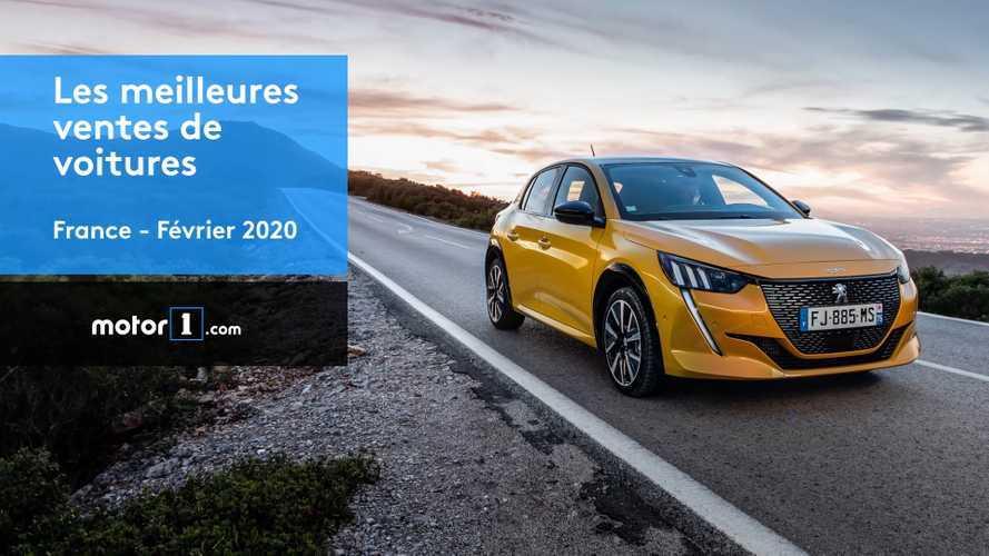 VIDÉO - Les 10 voitures les plus vendues en France en février