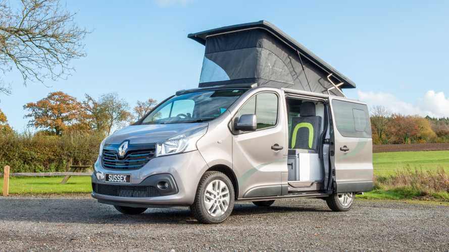 British firm creates £42,000 Renault Trafic campervan
