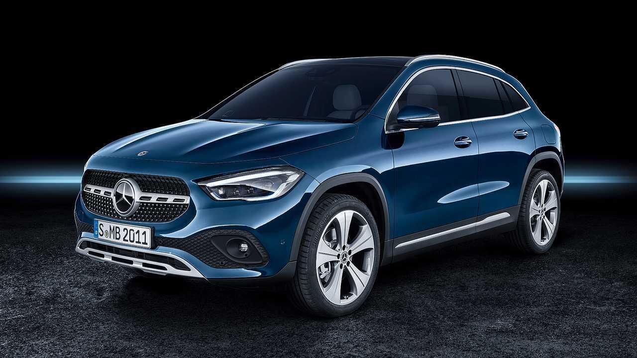 Small Luxury Crossover SUV: 2020 Mercedes-Benz GLA