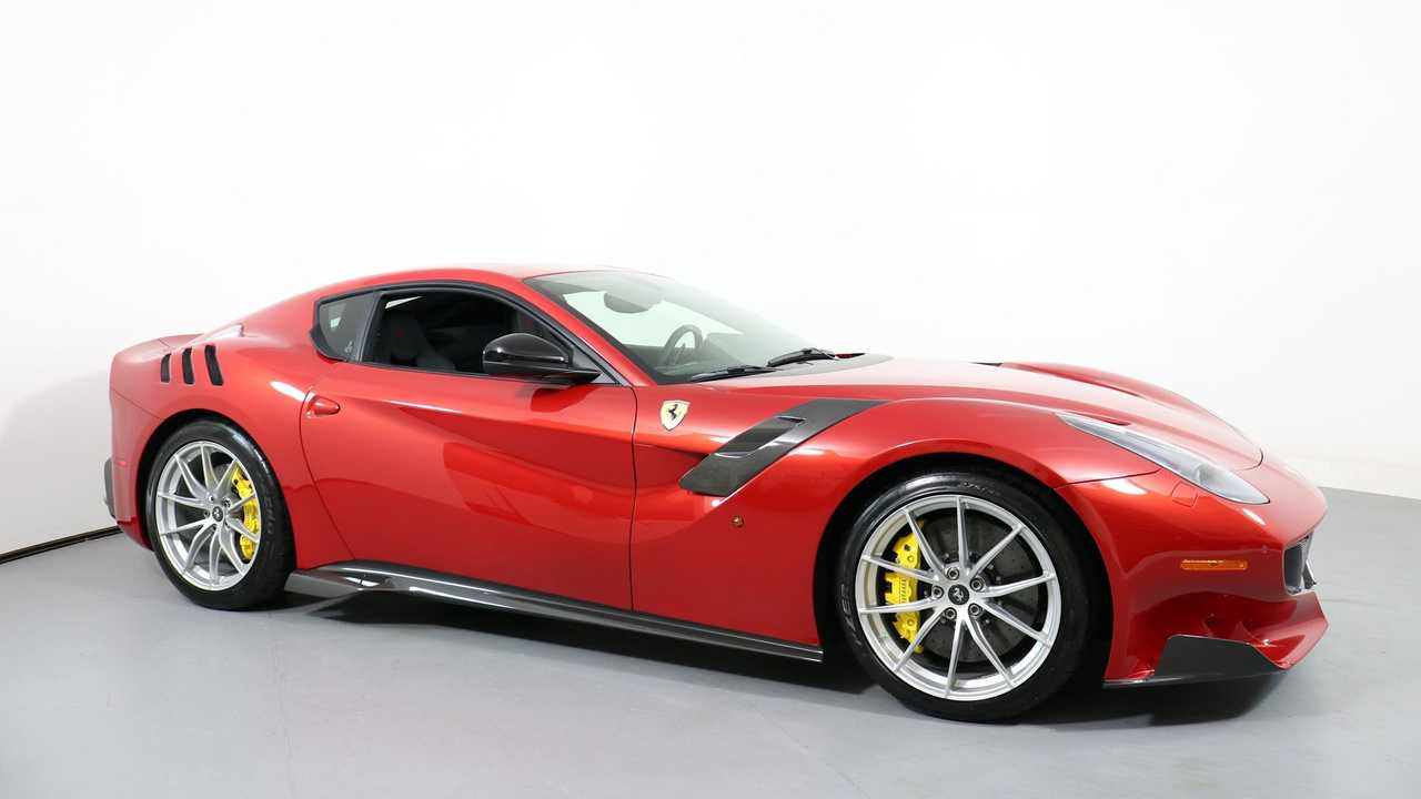 Enjoy Track-Level Performance In A 2016 Ferrari F12TDF