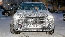 Mercedes-Benz EQA spy photos