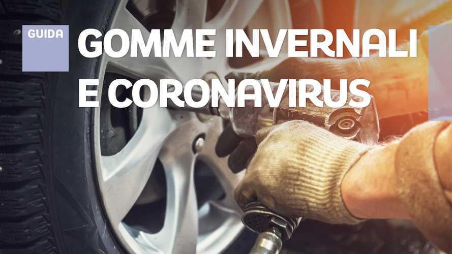 Cambio gomme invernali, come funziona la scadenza sotto Coronavirus