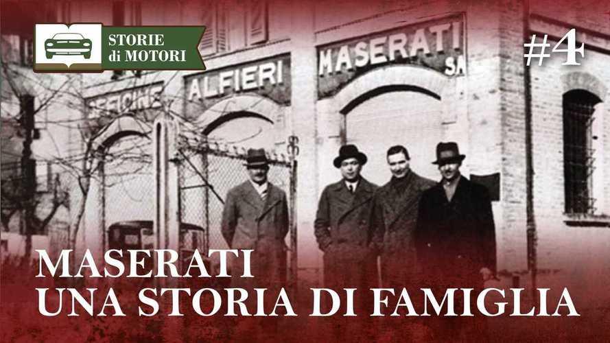 Maserati, los verdaderos orígenes de la casa del tridente