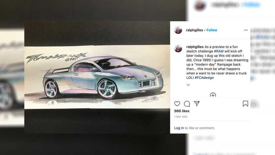 Dodge Rampage Sketch Gilles