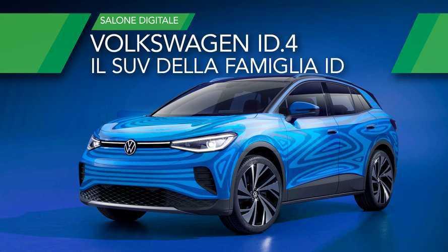 Volkswagen ID.4, il SUV elettrico tedesco ha 500 km di autonomia