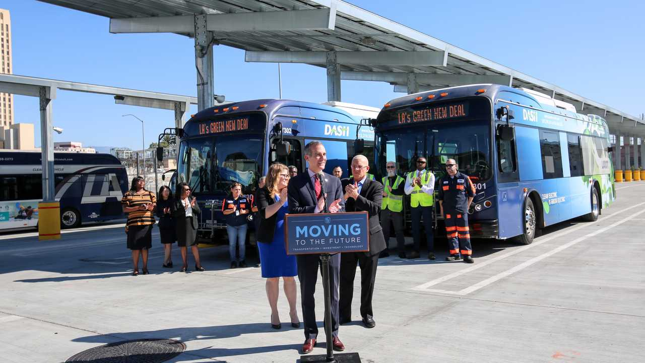 LADOT has placed the largest single order for electric buses in U.S. history