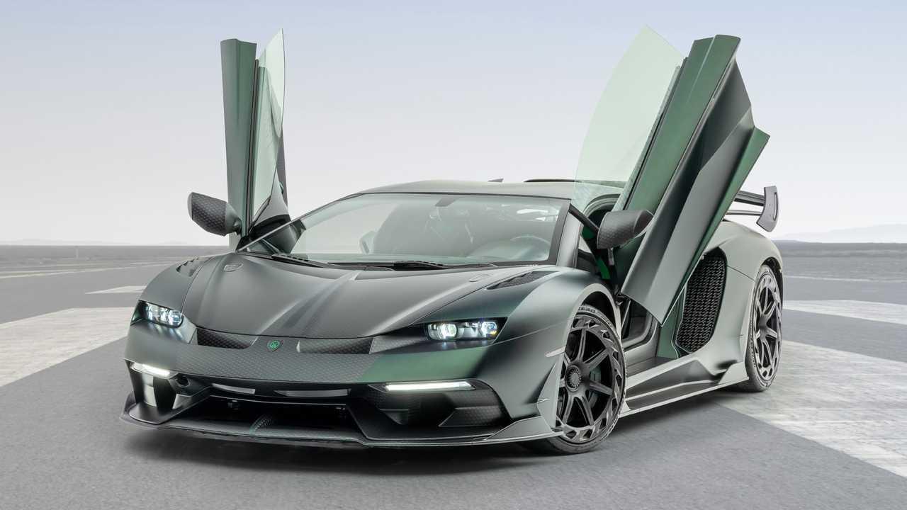 Mansory Lamborghini Aventador Cabrera