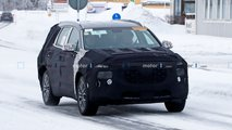 Hyundai Santa Fe facelift new spy photos