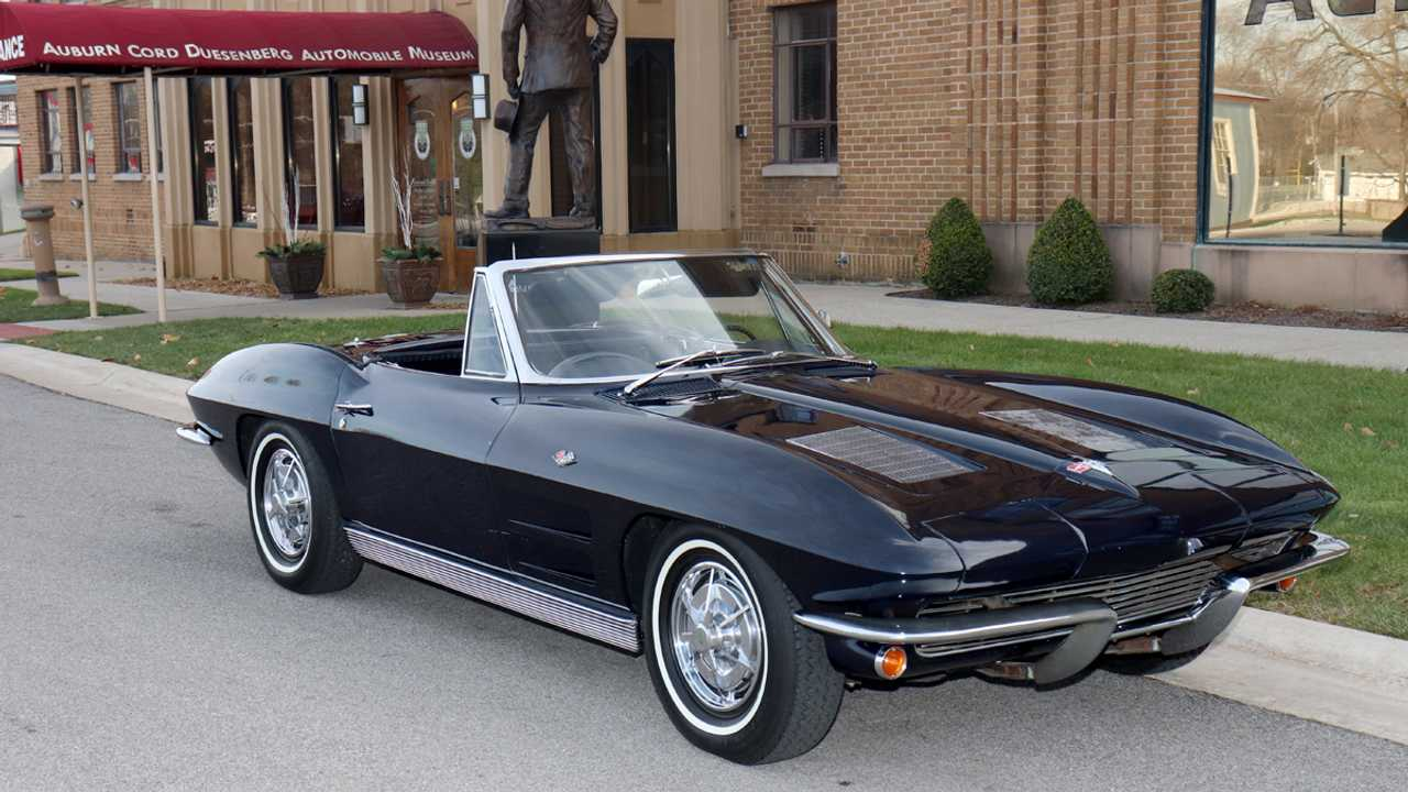 Enter To Win This Numbers-Matching 1963 Chevrolet Corvette