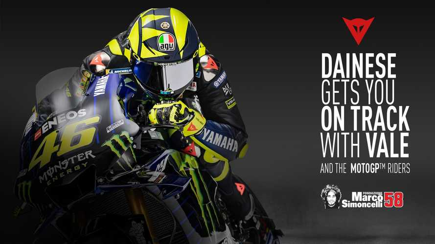 Learn From Valentino Rossi At The Dainese Riding Master Experience