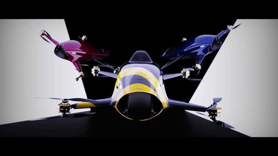 Le gare di auto elettriche volanti stanno diventando realtà