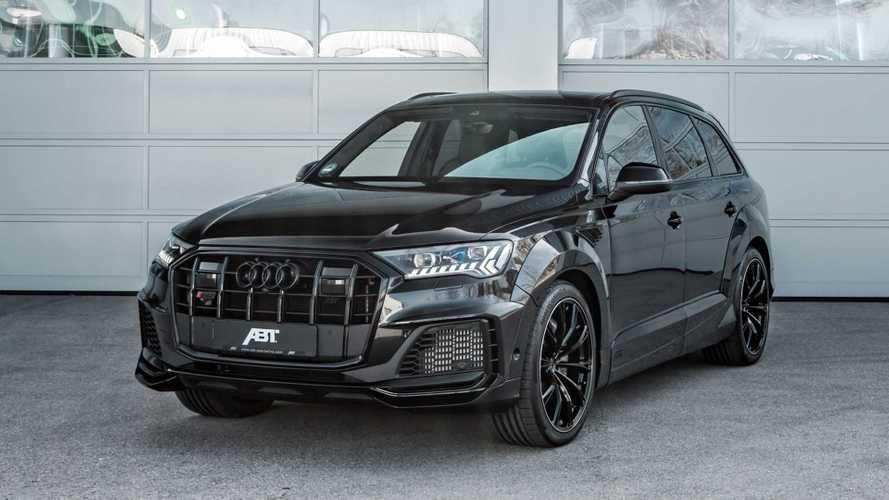 Audi SQ7 после визита в ABT стал еще более могучим