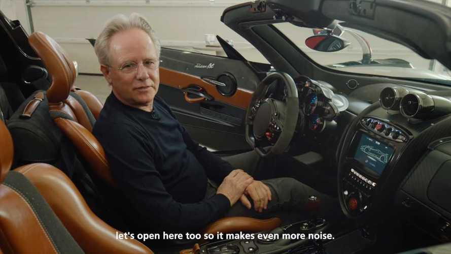 VIDÉO - Horacio Pagani vous ouvre son garage